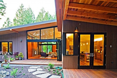 Contemporary exterior-beautiful, clean lines,  Kim Overton, real estate, Snohomish