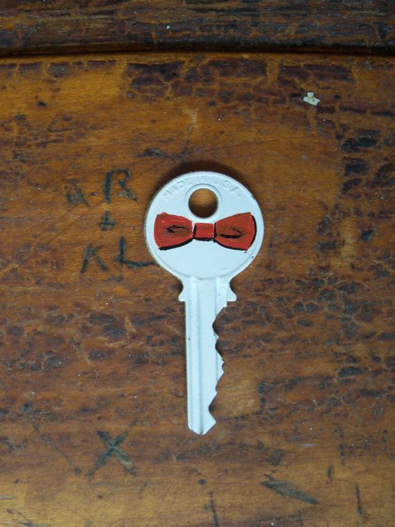 Tardis key- I bet this is pretty easy to make with nail polish, but is the bow tie the best symbol?