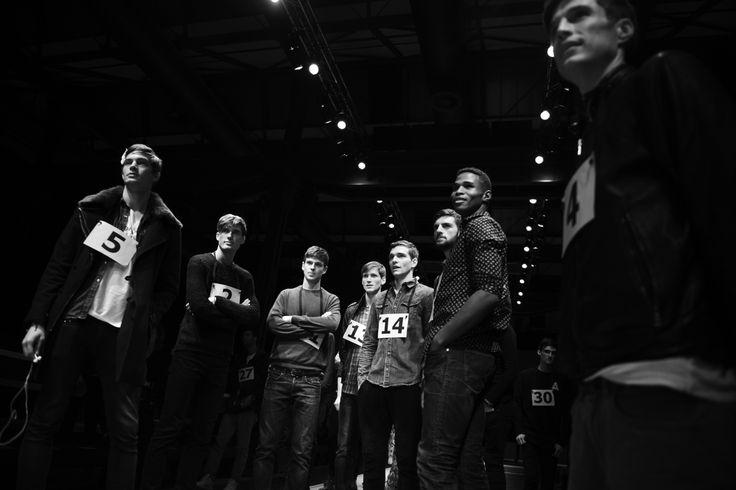 Rehearsal #fashionshow #models #gettingready #canali #canali1934 #mfw #fw14