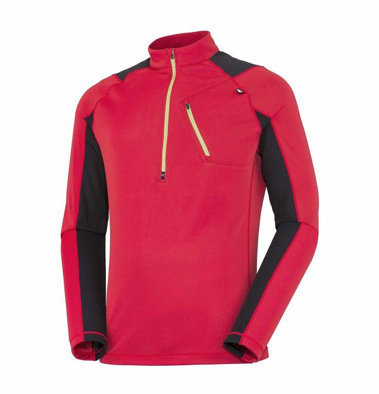 Le #TShirt #Red Needles ZLS de #Millet à manches longues pour #homme