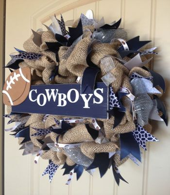 Custom Team Spirit Wreath