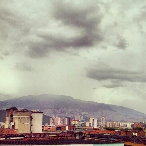 Una vista al centro de Medellin