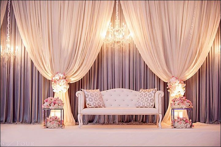 Elegant wedding stage decor <3 #bookeventz #weddingstage #stagedecor #weddingdecoration #wedding #marriage