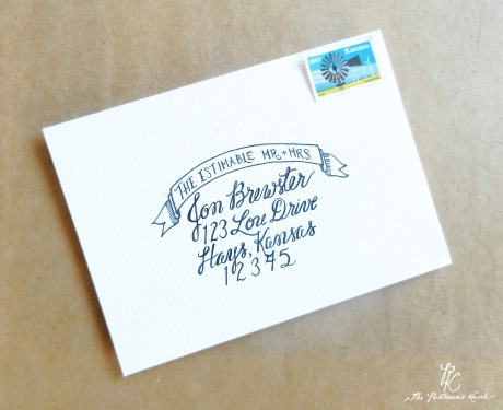 17 Best Images About Calligraphic Envelopes On Pinterest