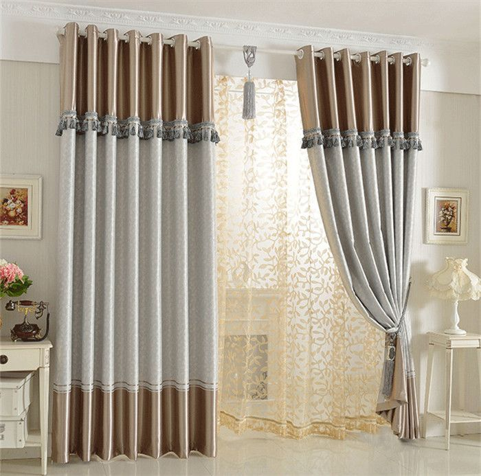 Las 25 mejores ideas sobre cortinas dobles en pinterest - Cortinas y estores para salones ...