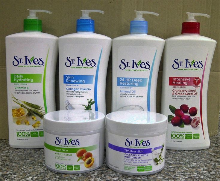 St. Ives Facial & Body Products