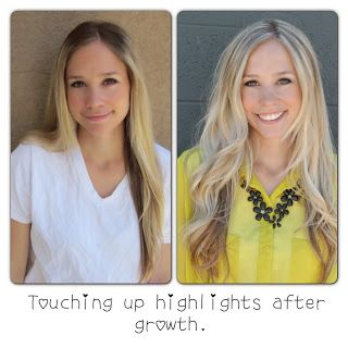 DIY home hair highlights