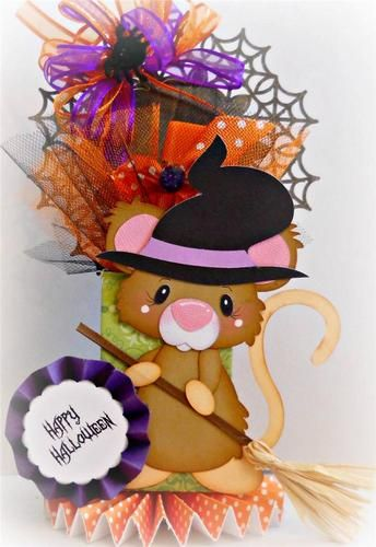 paper mice halloween decorations
