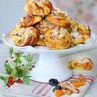 Saffransbullar med frukt - Recept - Mitt Kök