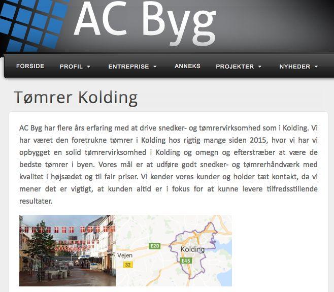 AC BY : Tømrer i Kolding