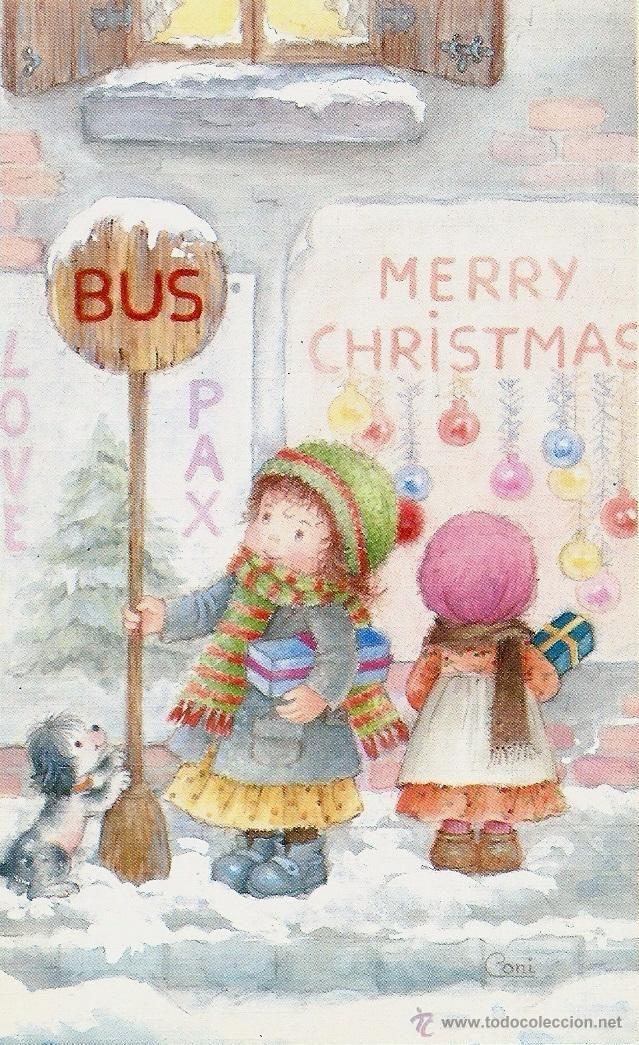 Mejores 156 im genes de constanza dibuixant infantil en - Postal navidena infantil ...