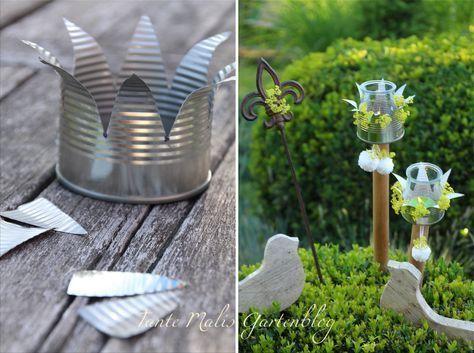 Tante Malis Gartenblog: Sommer!!! und Dosenlichter DIY