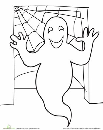 52 best Ghost images on Pinterest Halloween coloring pages