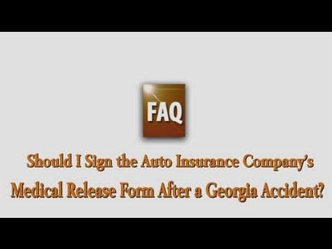 Are you SURE you know what youu0027re signing? Auto Insurance Medical - accident release form