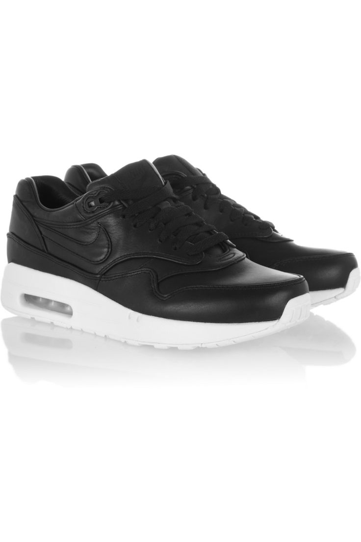 Nike|Air Max leather sneakers|NET-A-PORTER.COM Since i started running i started to like sportswear