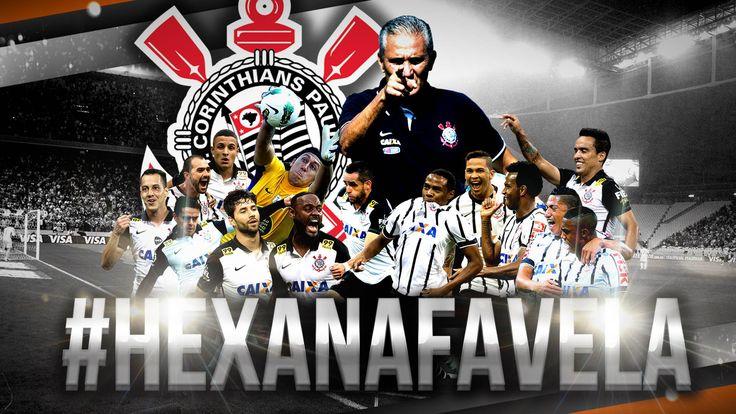 Sport Club Corinthians Paulista - Brazilian Champion 2015 - #HexaNaFavela | Registro oficial do título