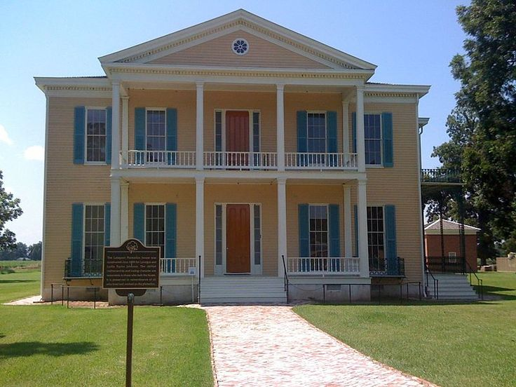 Lakeport plantation is the best example of an antebellum Antebellum plantations for sale