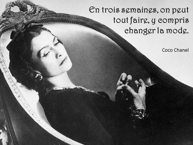 #citation #quotes coco #chanel