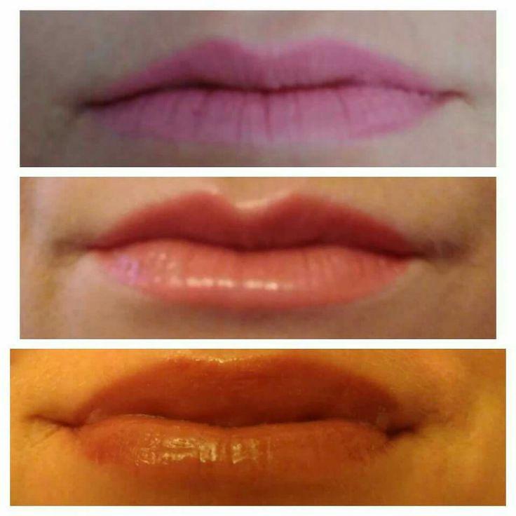 Plumping lip gloss.