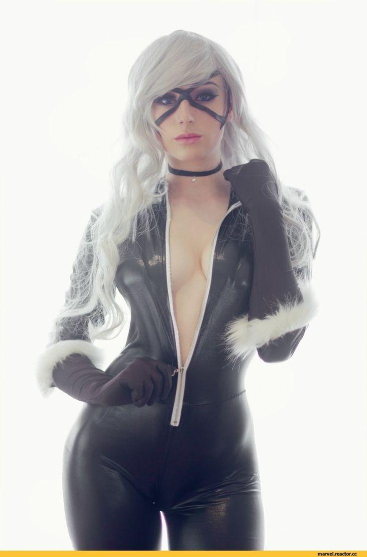Kayla Erin,Black Cat,Черная Кошка, Фелиция Харди,Marvel,Вселенная Марвел,фэндомы,Cosplay Erotica,cosplay,gif,под катом еще