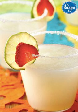 Inspired Gathering has a perfectly festive and kid-friendly beverage to serve up this holiday season. These Mock Margaritas are simple to make with lime, frozen limeade, club soda, and salt. They are refreshingly delicious and will make friends and family of all ages feel fancy!