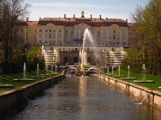 St. Petersburg, Russia: Schloss mit Bernsteinzimmer
