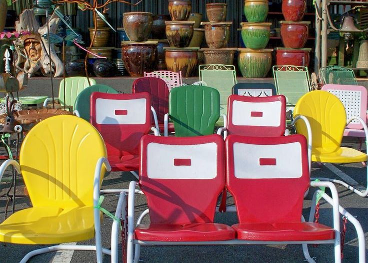 Vintage Patio Furniture.