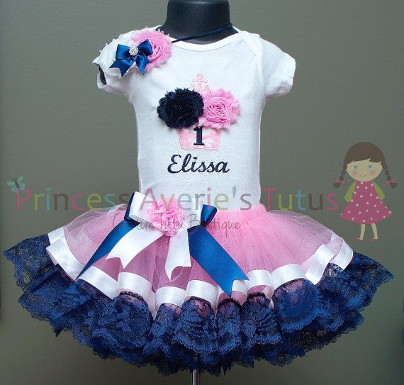 3 Piece Set CUSTOM MADE SET Vintage Sweet by PrincessAveriesTutus, $80.00