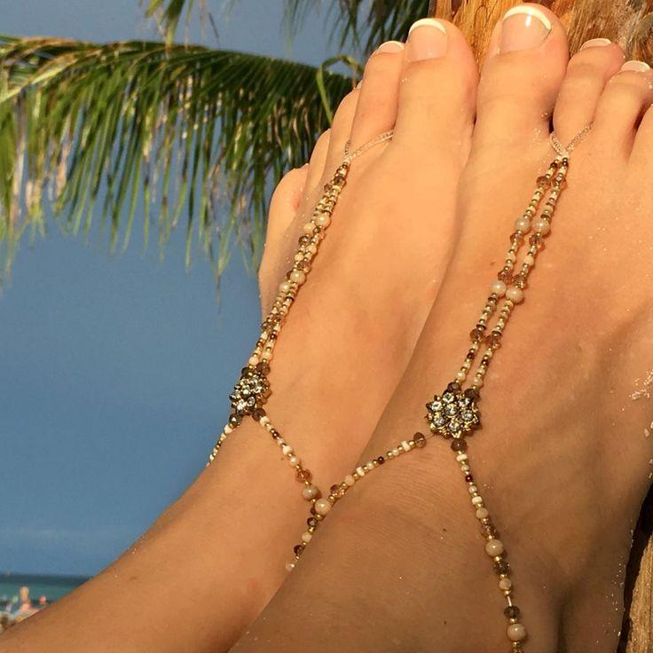 Stunning handmade in the UK barefoot sandals #slinksdesign #barefootsandals #travellinggirls