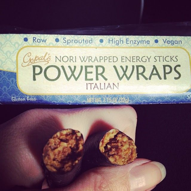 Look for these Gopal's power wraps when you travel! They are perfect for airplanes and camping! http://gopalshealthfoods.com/power-wraps #ta...
