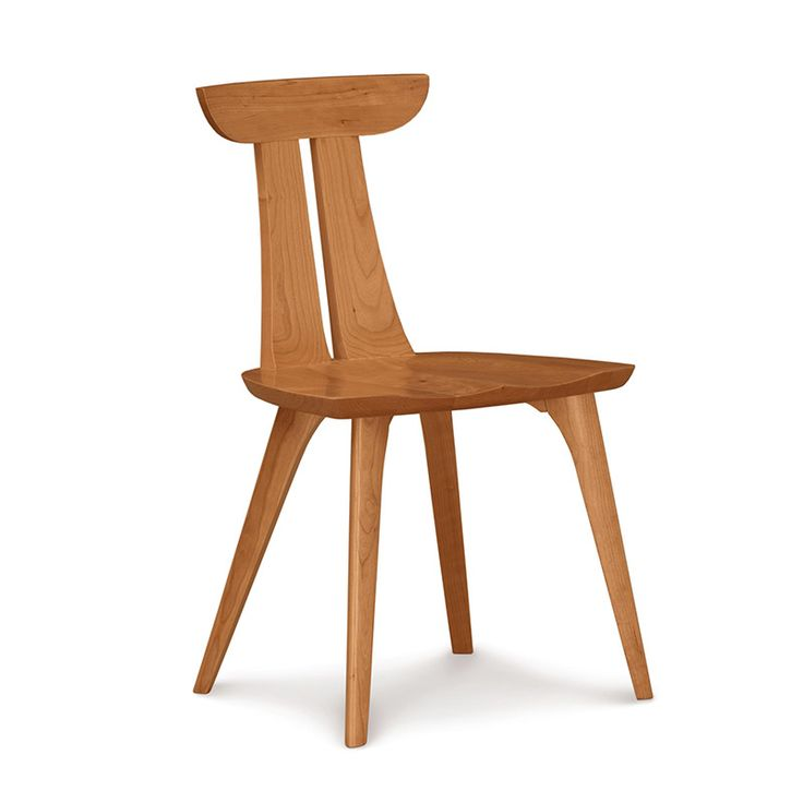 Copelands New High End Estelle Dining Side Chair Features The Essence Of Mid Century Modern