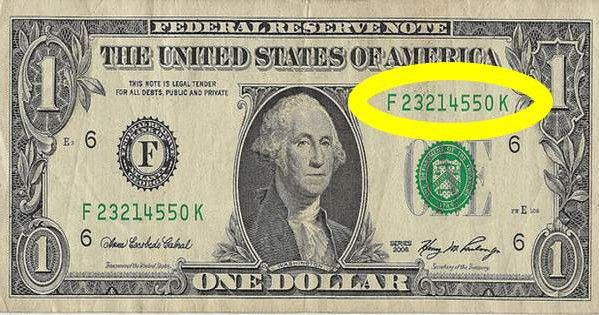 Check your dollar bills. If you have any numbers like these, they could be worth thousands!