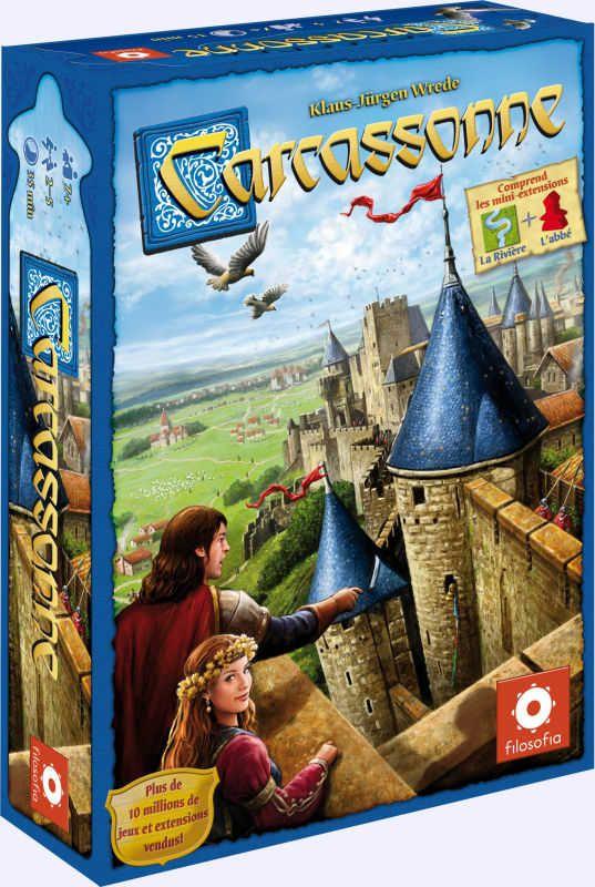 Carcassonne: jeu de société chez Jeux de NIM