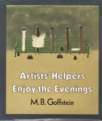 Artists' Helpers Enjoy the Evenings M. B. Goffstein,クレヨンが主人公