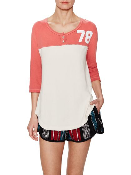 Super Cycle Jersey Henley Top