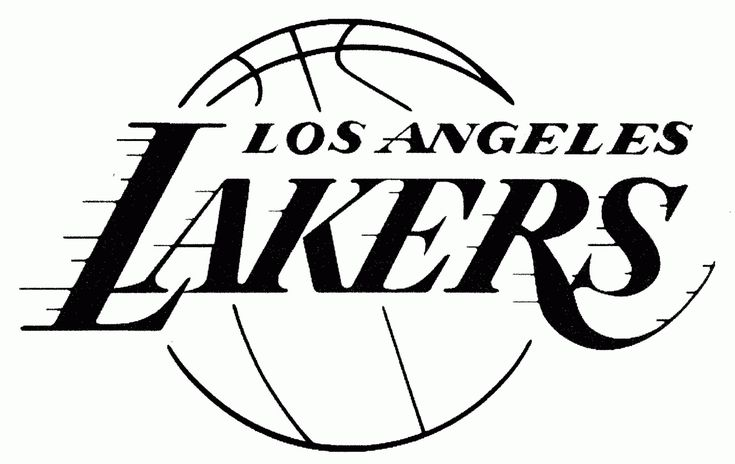 Download or print this amazing coloring page: Lakers ...