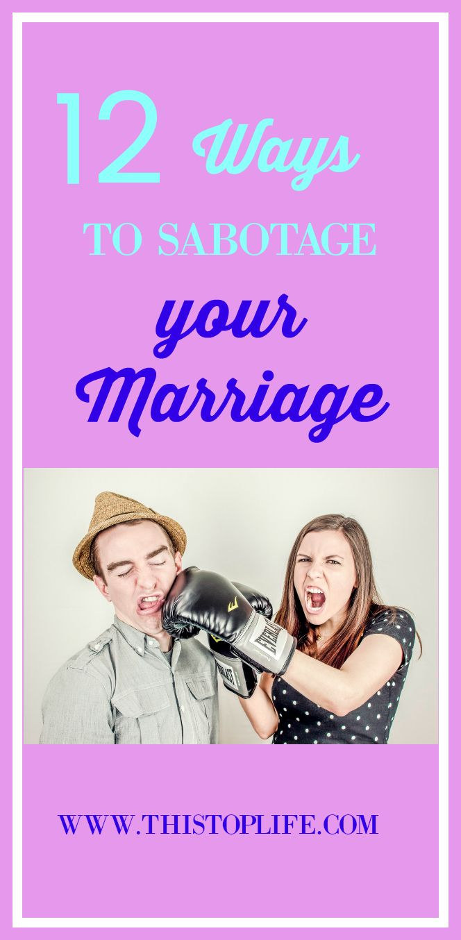 Read these tips of what NOT to do in your marriage!