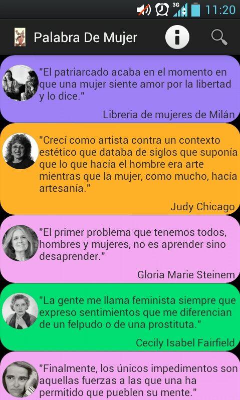 """""""Apps"""" de mujer para luchar contra la brecha de género"""