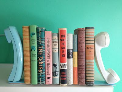 DIY Hipster Gifts: Vintage Retro Phone Bookends Tutorial