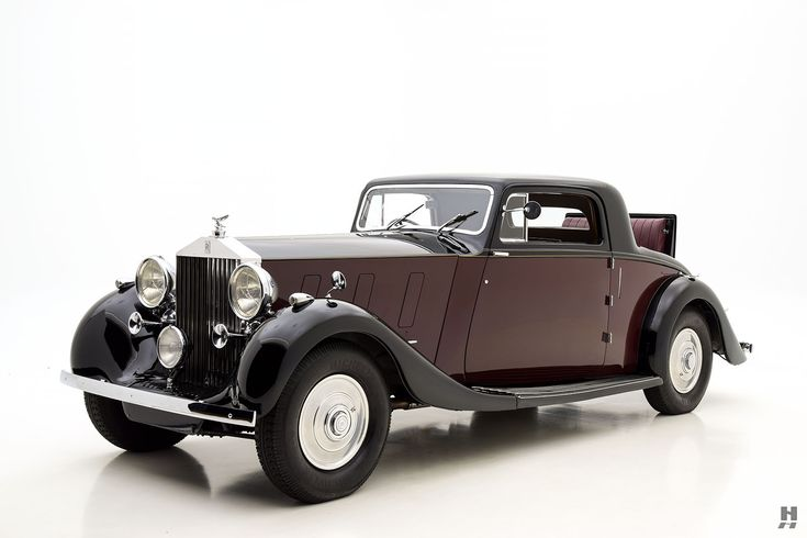 1936 rolls-royce phantom iii coupe