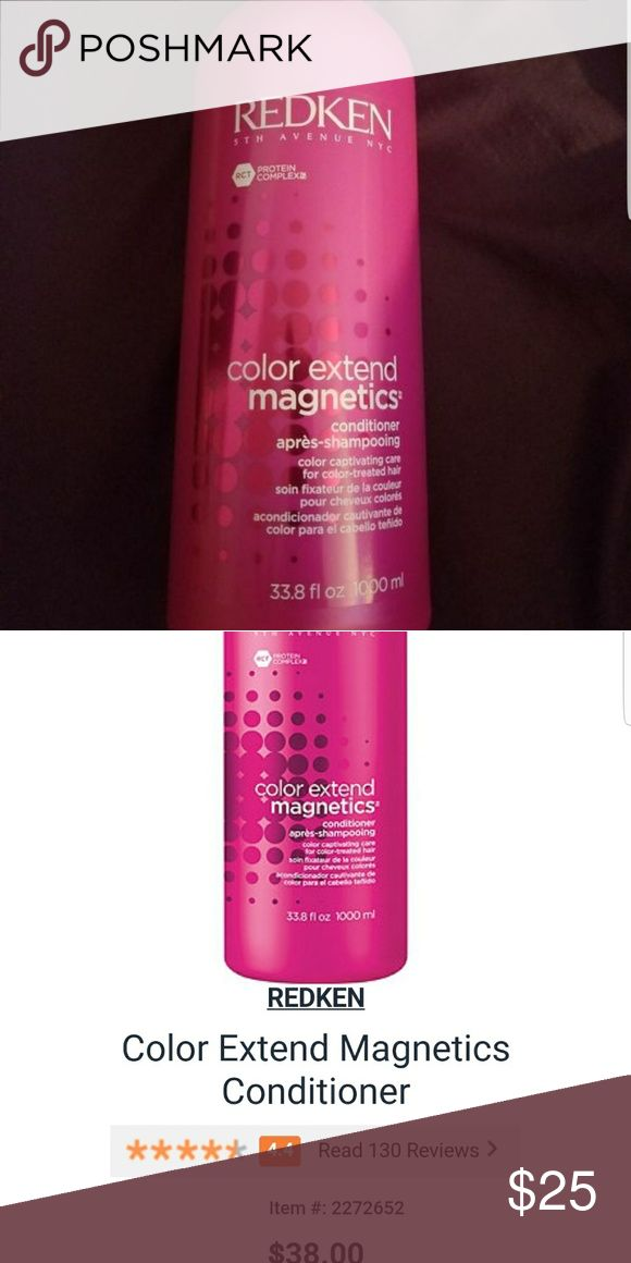 Redken conditioner New. Bought this in a sulfate-free bundle but i dont use conditioner. Retails $38 Other