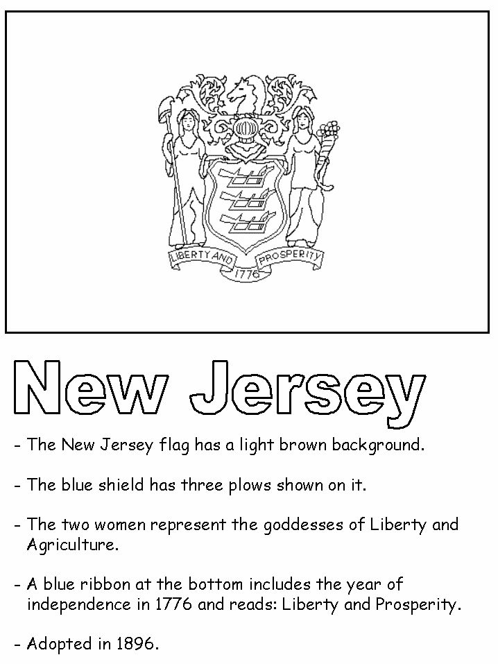 17 best images about nj 350 on pinterest crafts for New jersey state seal coloring page