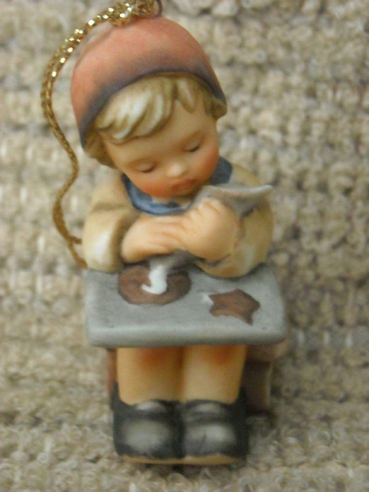 12 best Hummel Christmas Ornaments images on Pinterest | Christmas ...