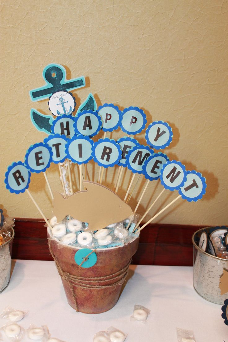 Planning a retirement party pinterest just b cause for Party centerpiece ideas pinterest