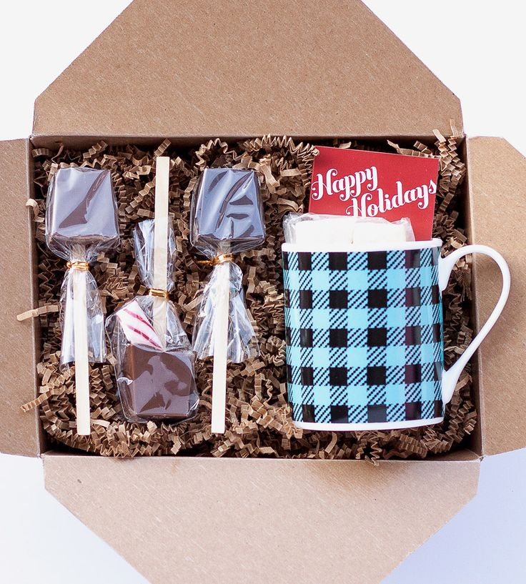 Perfect teacher gift! :: Holiday Hot Chocolate Sipping Kit by Ticket Chocolate