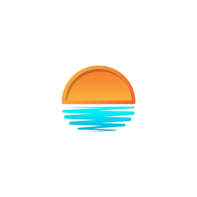 Beach Sunset Logo Design Vector Icono Elemento Sunset Logo Concepto Resumen Por La Tarde Playa Png Y Vector Para Descargar Gratis Pngtree Sunset Logo Beach Icon Wave Illustration