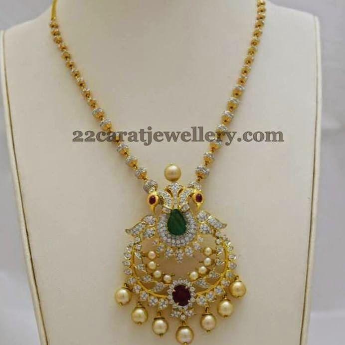 Fancy Diamond Set by Totaram Jewellers