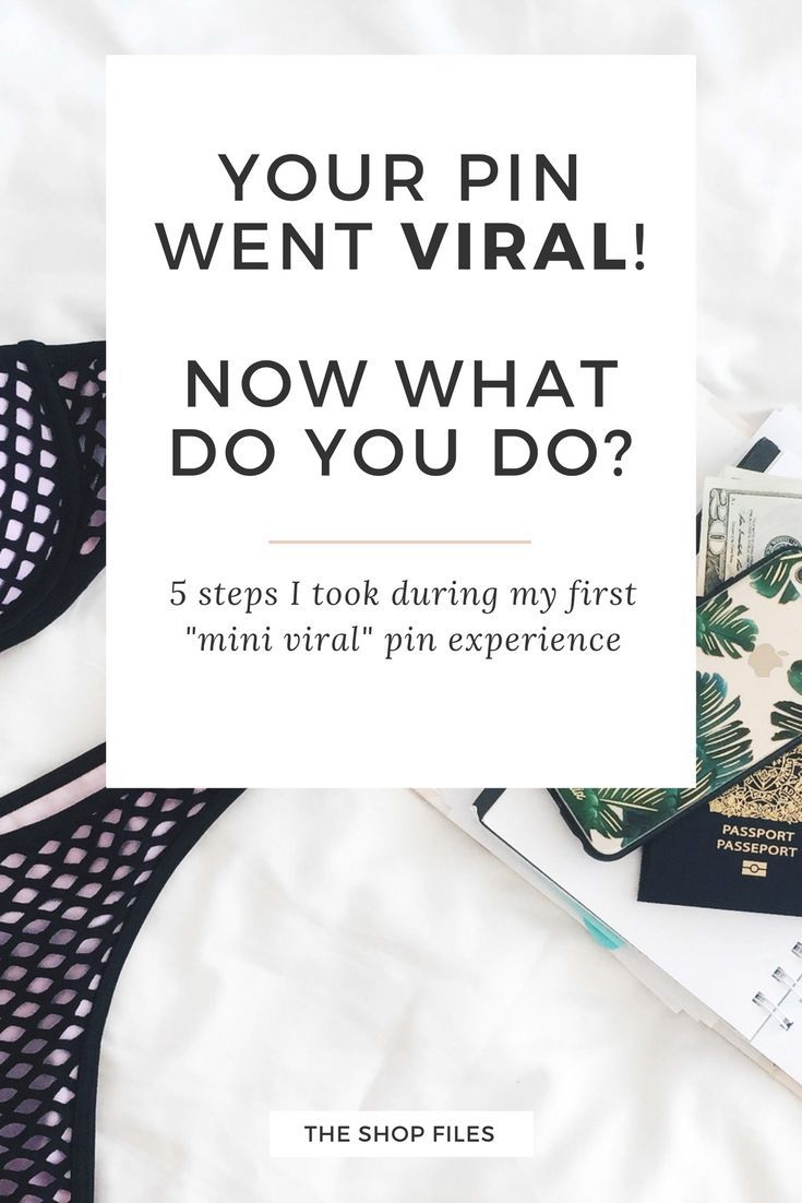 Learn from my mistakes if your pin goes viral on Pinterest. Learn 5 key steps to maximize increased traffic, get more email sign ups, and introduce my brand to a audience. Is your blog ready | How to go viral on Pinterest - tips to increase your chances