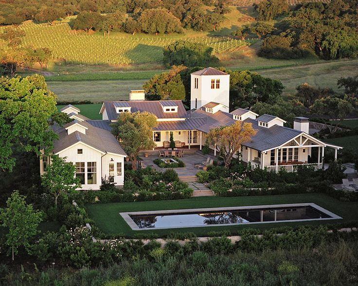 Country Living perfected... Walker Warner Architects, Sonoma Ranch