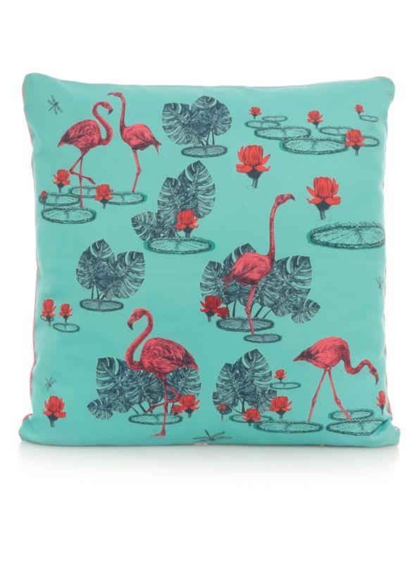 George Home Prince's Trust Flamingo Cushion - £7